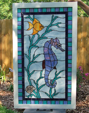 Arlene S Seascape Stained Glass Window Dean S Stained