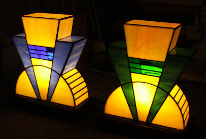 These Art Deco Styled Lamps Have Been Reproduced From The At Rex Cinema By Dean Watts