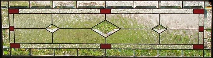 Davenny Transom - Stained Glass Transom - Dean's Stained Glass