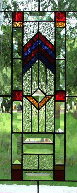 Davids Door Panel Stained Glass Transoms Deans Stained Glass