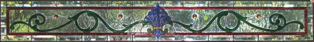Greg's Stained Glass Transom