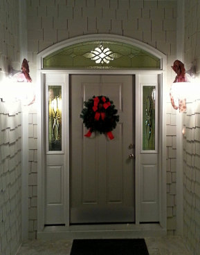 Kelsey Beveled Glass Entryway