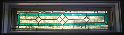 Laura's Transom - Stained Glass Transom