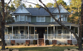 The Lee's Victorian style home in Gulf Shores, Al