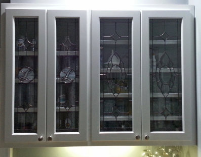 Lee cabinet after installation
