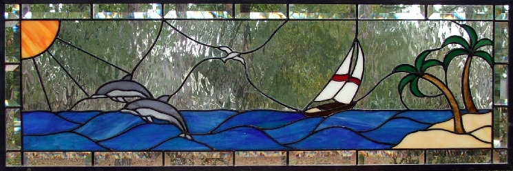 Sharon S Transom Stained Glass Transoms Dean S Stained