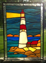 Mary's 1st version of Stan's Lighthouse