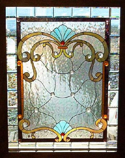 Victorian crazy stained glass window dean 39 s stained glass for Victorian stained glass window film